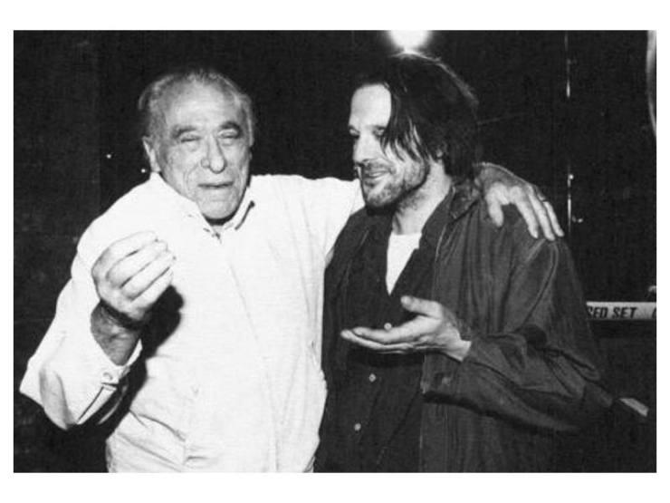 Bukowski e Mickey Rourke