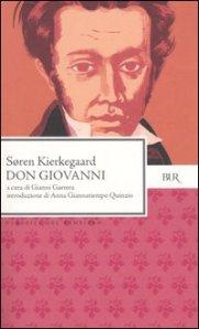 La copertina di Don Giovanni, di S. Kierkegaard.