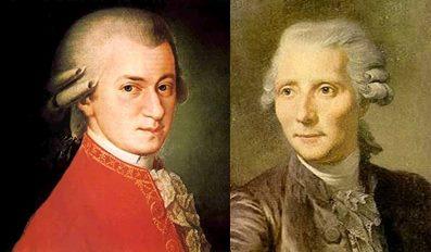 W.A. Mozart e Lorenzo Da Ponte