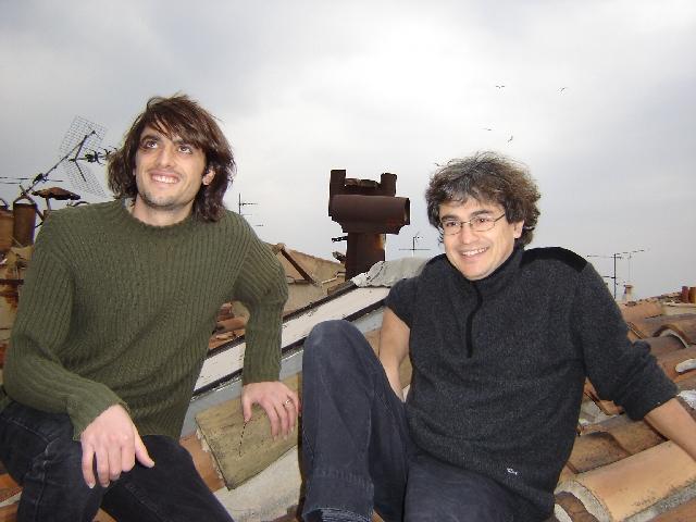 Carlo Rovelli (a destra) in compagnia di Alejandro Perez: entrambi sono membri permanenti dell'Equipe Quantum Gravity.