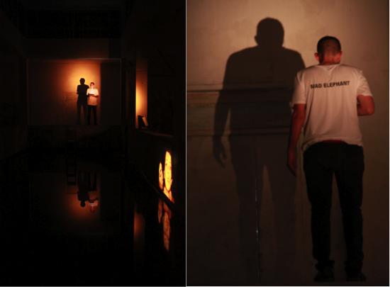 """Performance teatrale: Primo studio sulla paura – Fabio Cherstich Racconto di dipendenza e separazione, attraverso immagini e citazioni. La dipendenza dalla paura è la """"peggiore"""": ti consuma e finisce per essere la cosa più importante che hai. «Non ne so molto di separazioni: non ho mai tagliato i ponti con niente» :"""