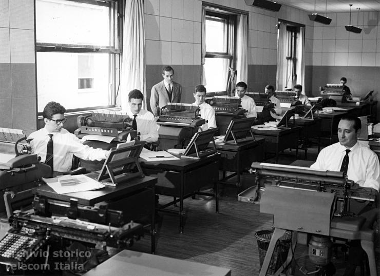 Uffici Telecom Italia, immagine d'archivio